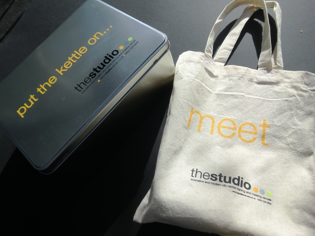 Marketing Genius - Studio Venues Branded Goodies