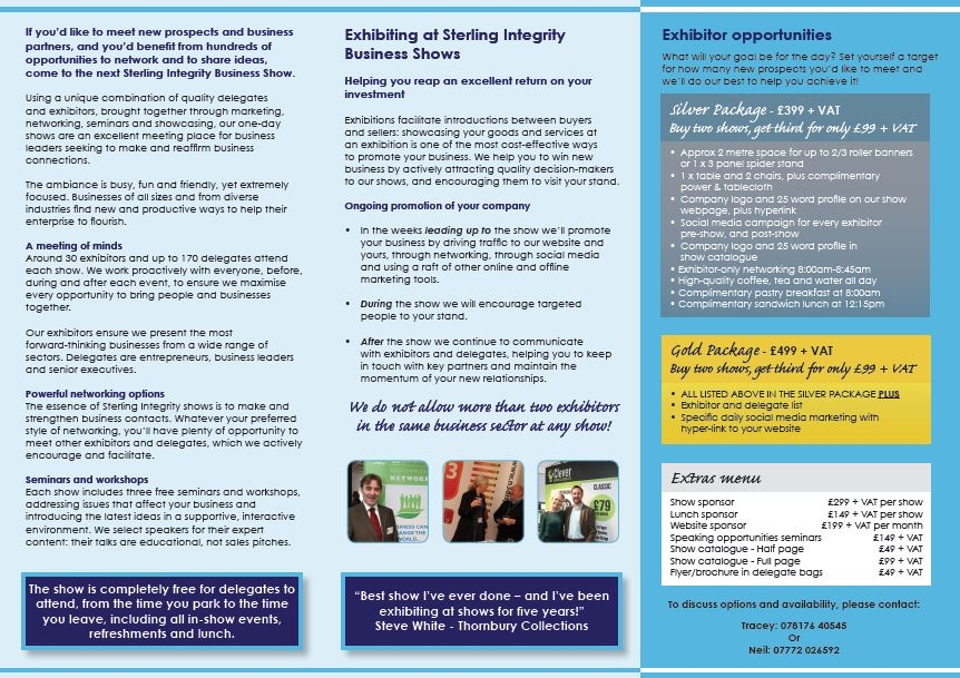 Sterling Integrity Brochure