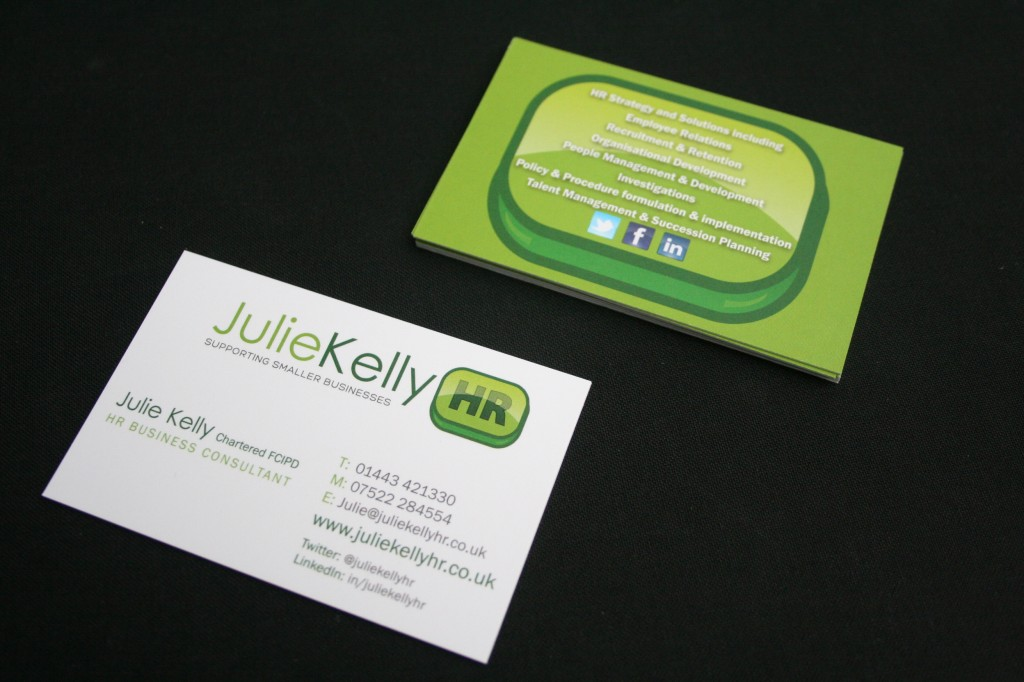 julie kelly hr business cards