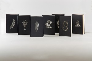 Gorgeous Harry Potter book redesigns