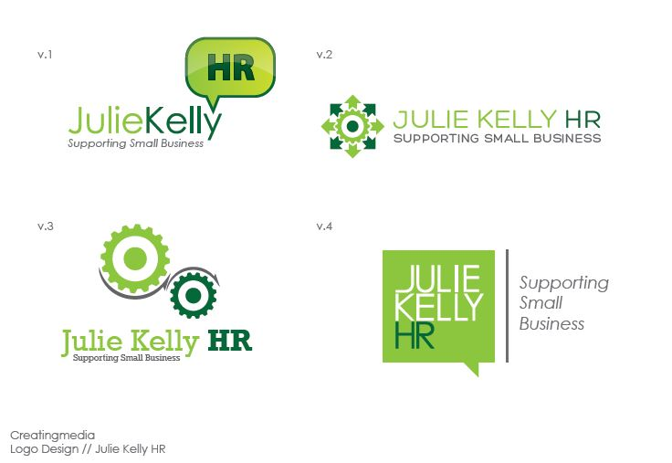 Creating Media design work - Julie Kelly HR