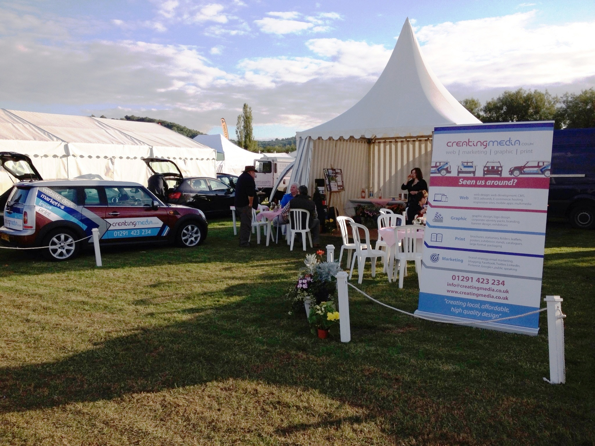 Creating Media work - Usk Show 2014