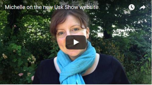 Michelle on Usk Show and the new website
